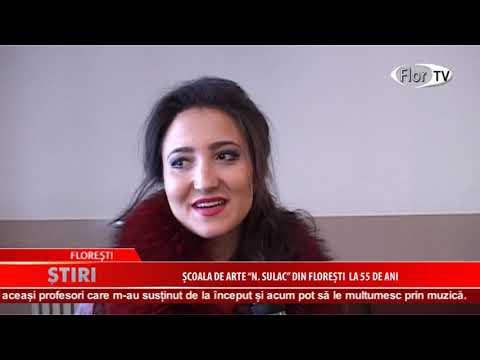 """Școala de arte ,,N.Sulac"""" din Florești la 55 de ani"""