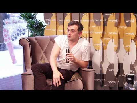 Vaynerchuk - This is, without a doubt, the most unique Q&A I've done so far. Major, major value here, guys. Huge thanks to WeWork Stories for putting this together! Be su...