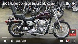 6. 2005 Harley Davidson Super Glide Custom