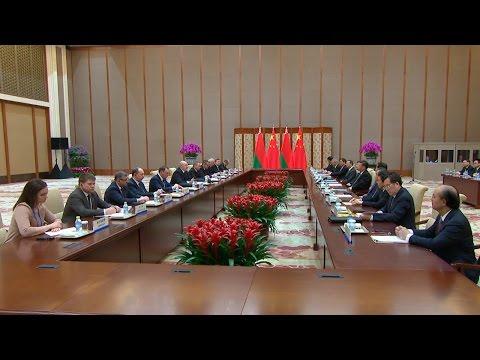 Лукашенко: о перспективности отношений с Китаем в Беларуси знает каждый