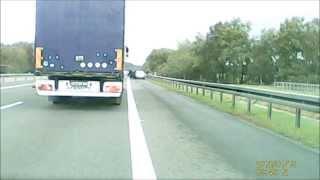 Tak się kończy zapier*alanie cyganów po autostradzie A4 i okradanie ludzi.