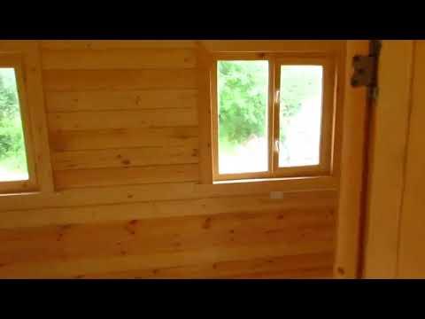 Обзор интерьеров деревянного модульного дома из профилированного бруса 4,60х6,00 м