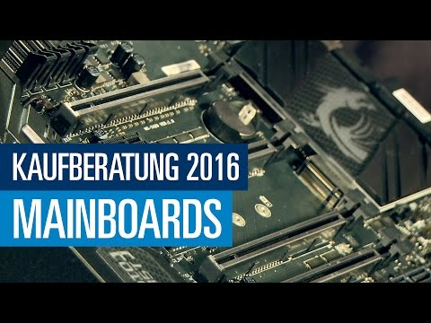 Alles über Mainboards - PCGH Kaufberatung (Folge 1)