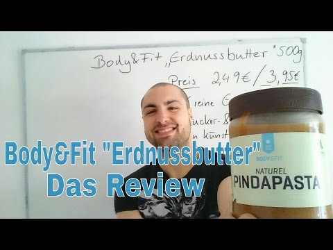 "[Video] Im Test: Erdnussbutter ""Crunchy"" von Body & Fit"