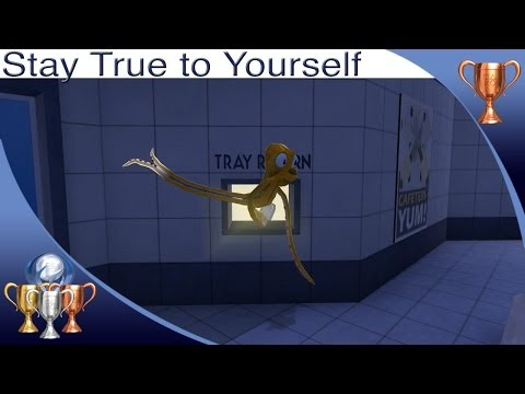 Guide - Octodad Dadliest Catch Stay True To Yourself trophy guide. Sneak to the cafeteria without the use of a disguise. For a full trophy guide visit my site - http...