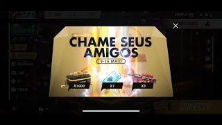 Ganhe Ouro, Tickets e Skin Gratis no Free Fire! by Pokémon GO Gameplay