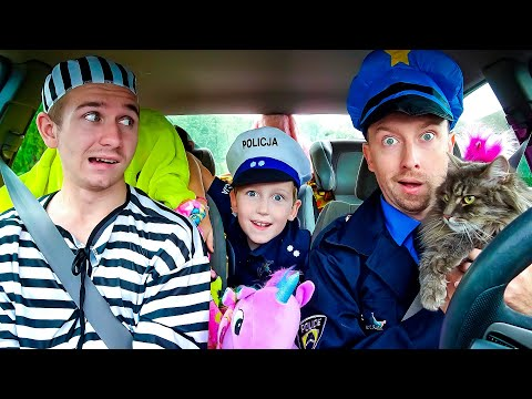 Super Policemen surprise Eli with Dancing Car Ride