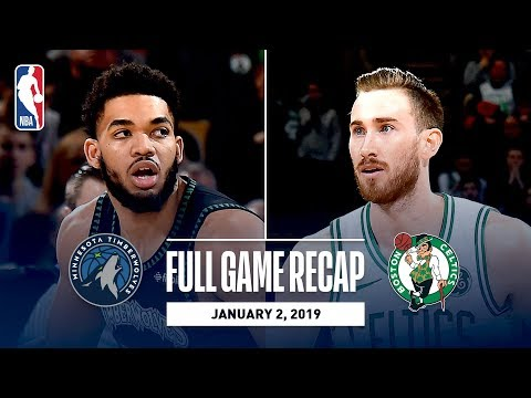 Video: Full Game Recap: Timberwolves vs Celtics | Gordon Hayward Leads All Scorers