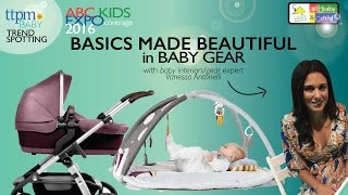 Top New Designs in Basic Baby Gear-TTPM with Vanessa Antonelli-ABC Kids Expo October 2016