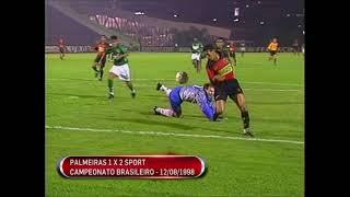 Palmeiras 1 x 2 Sport - Campeonato Brasileiro 1998