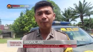 SAMBANG DUKA POLSEK MUNTOK BANGKA BARAT #TRIBRATA NEWS