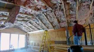 Installing 1x7 Tongue and Groove Pine on the Ceiling - Part 1