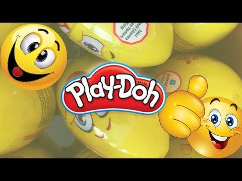 Play doh - Surprise Eggs Playdoh - Eggs and Toys TV