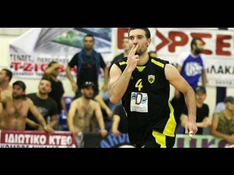 AEK-Iraklis A2 Elevation Game 2013-Giannis Stamboulis No9 blue