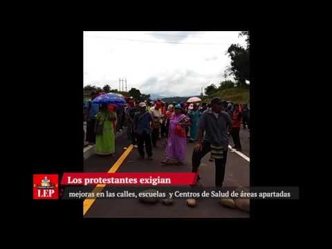 Continúan manifestaciones en Horconcito de Chiriquí