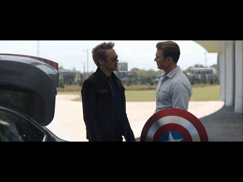 Tony Stark Returns Steve's Shield | Avengers: Endgame [Blu-Ray HD]