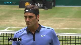 46 seconds! So quick even for Roger Federer...Watch official ATP tennis streams all year round: http://tnn.is/YouTube TennisTV is the OFFICIAL live streaming...