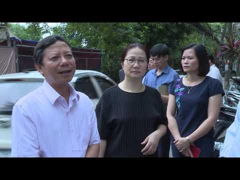 Kiểm tra công tác phòng chống dịch sốt xuất huyết tại quận Hà Đông