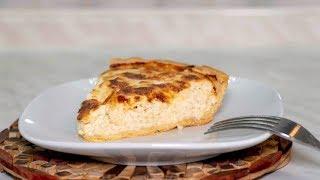 Киш с курицей и сыром, рецепт простого мясного пирога