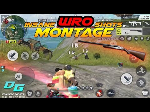 Insane WRO Shots #3 | Rules Of Survival Mobile