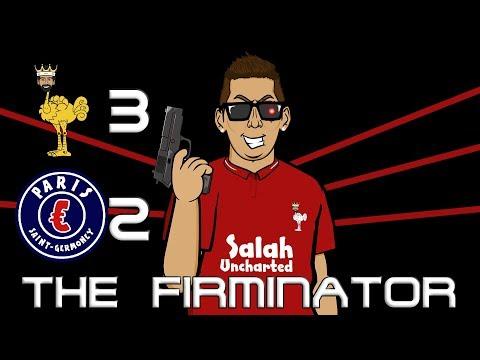 🤖THE FIRMINATOR!🤖 3-2 Liverpool vs PSG (Champions League Parody Goals Highlights)