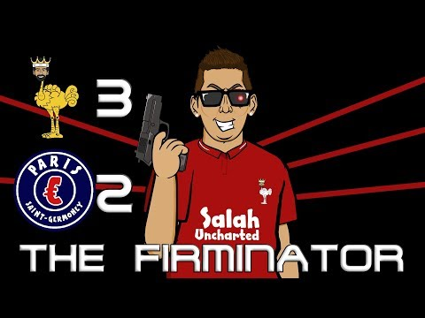 🤖THE FIRMINATOR!🤖 3-2 Liverpool Vs PSG (Champions League Parody Goals Highlights)