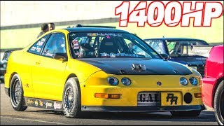 1400HP Acura Integra Type-R | Worlds First 7 Second Integra! (65PSI + 11000RPM) by  That Racing Channel