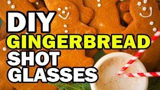 DIY Gingerbread Shot Glass Challenge (11mins) by ThreadBanger