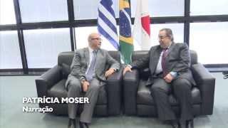 VÍDEO: Governador em exercício recebe embaixador da Grécia