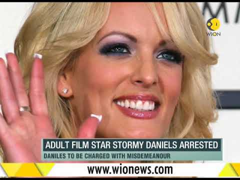 WION Fineprint: Adult film star Stormy Daniels arrested, to be charged with misdemeanour