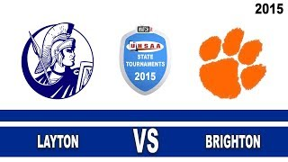 5A Layton Vs Brighton 2015 Utah State Boys Basketball Tournament Championship Game