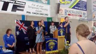 Kadina Australia  city photos gallery : Australian Hymn at Kadina Memorial HS