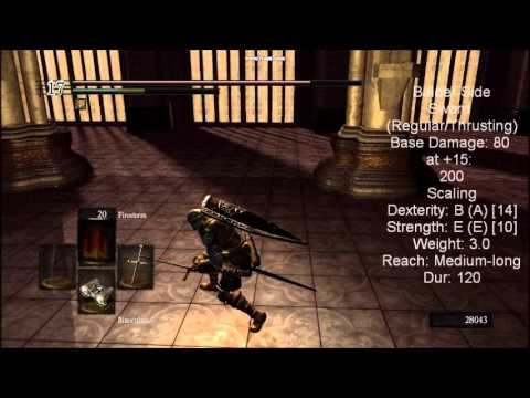 Straight Sword - The final version of my straight sword weapon guide for Dark Souls with some fixes and improvements... also commentary. This isn't meant to be super in-depth...