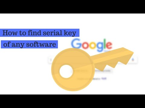 (How To Find Serial Key Of Any Software For Free | Simple... 2 min  3 sec)