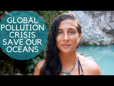 GLOBAL POLLUTION CRISIS...Save Our Oceans! + Glass Straw Giveaway