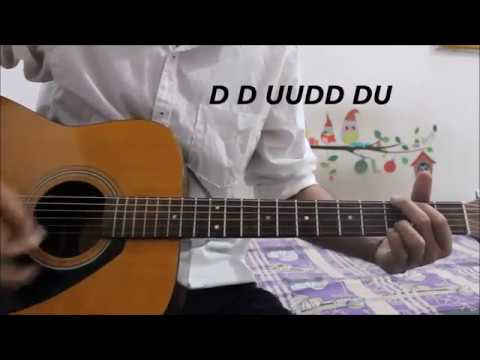 1 Strumming Pattern – Play 90% of Hindi Songs – Easy Beginners Lesson Explained