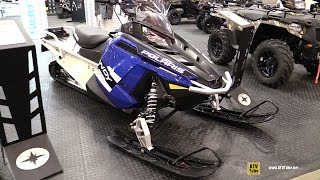 5. 2016 Polaris Indy Voyageur 550 155 Sled - Walkaround - 2015 Toronto Snowmobile & ATV Show