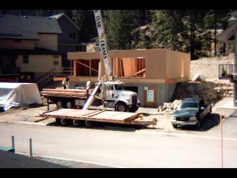 Rainbow Passive House Duplex House Prefab Timelapse