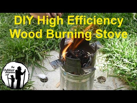 DIY: How to make a backpacking wood gasifier stove