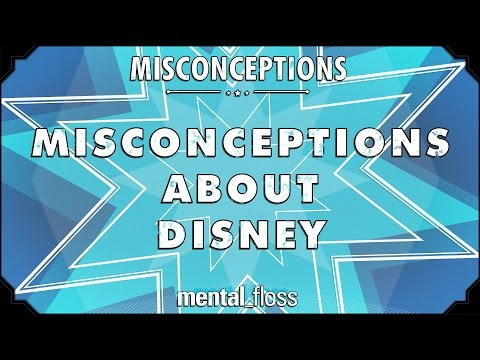 Misconceptions about Disney