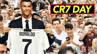 Video Locura total, así fue el primer día de Cristiano en la Juve I CR7 le canta a la Juventus MP3, 3GP, MP4, WEBM, AVI, FLV Agustus 2018