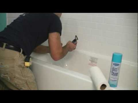 How to Apply a Perfect Silicone Bead of Caulk