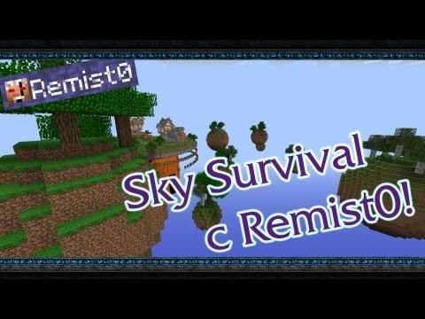 Minecraft. Sky Survival. МУЖИК ПРОПАЛ!