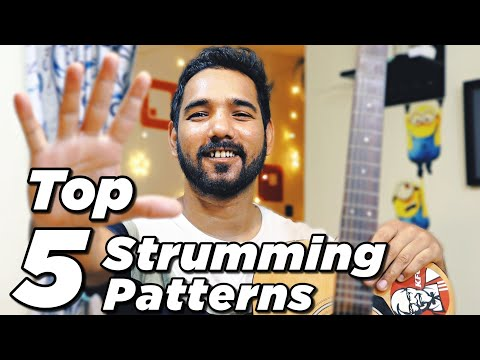 Top 5 Guitar Strumming Patterns for Beginners  by Acoustic Pahadi