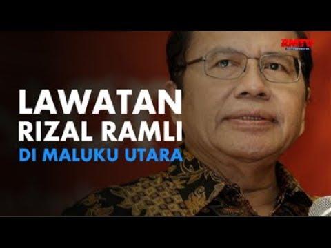 Lawatan Rizal Ramli Di Maluku Utara