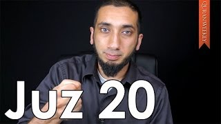 CÜZ 20 - Duygusal Acılara Şifa [Nouman Ali Khan]
