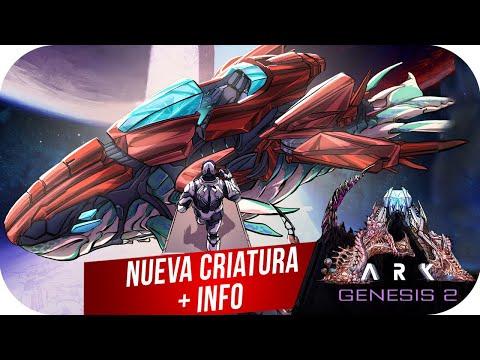 NUEVA CRIATURA/VEHICULO + Mecha-Rockwell + Info   ARK GENESIS 2