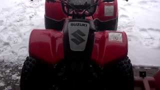 4. Derestricting my son's Suzuki QuadMaster 50