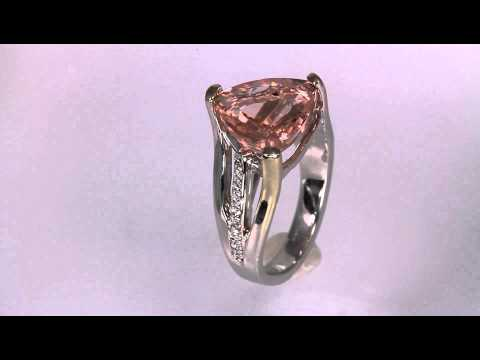 Morganite Ring Designed By Christopher Michael 5.03 Carat