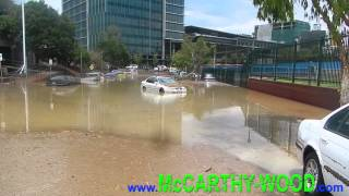 Brisbane Smashed By Super Storm!